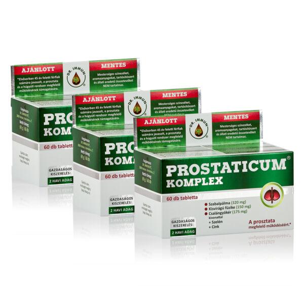 3 db Prostaticum KOMPLEX vásárlása esetén a 4. ajándék