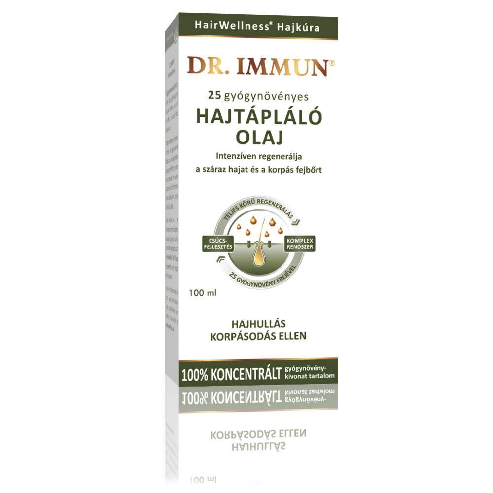 DR. IMMUN 25 gyógynövényes Hajtápláló olaj