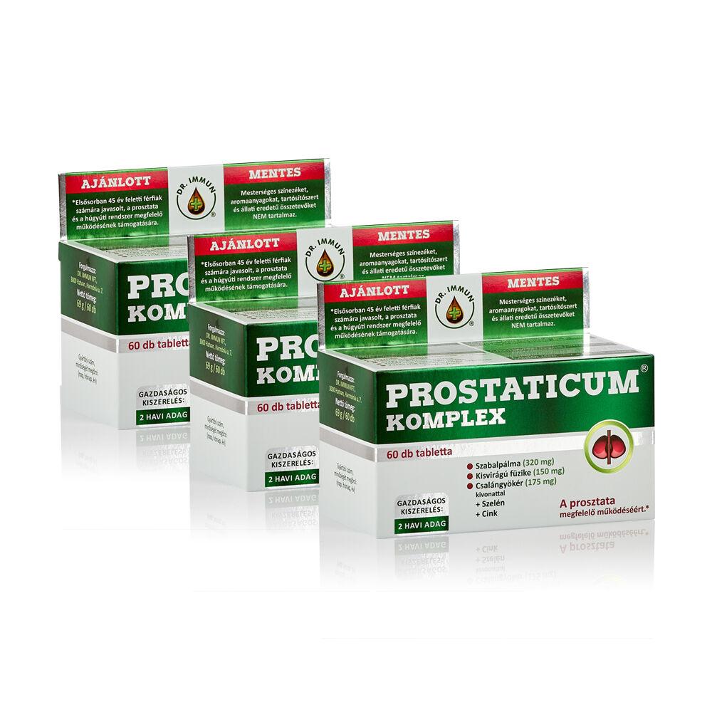 3 db Prostaticum KOMPLEX csomag