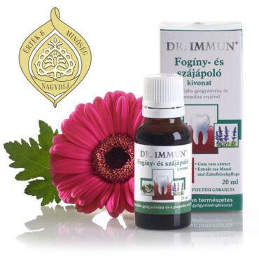 DR. IMMUN Fogíny- és szájápoló kivonat