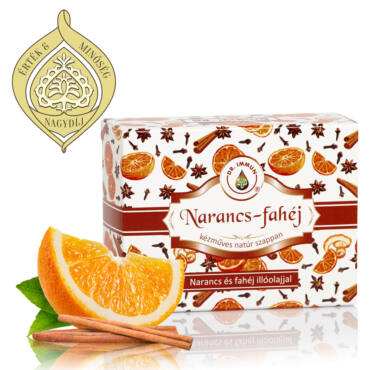 DR. IMMUN Narancs-fahéj szappan
