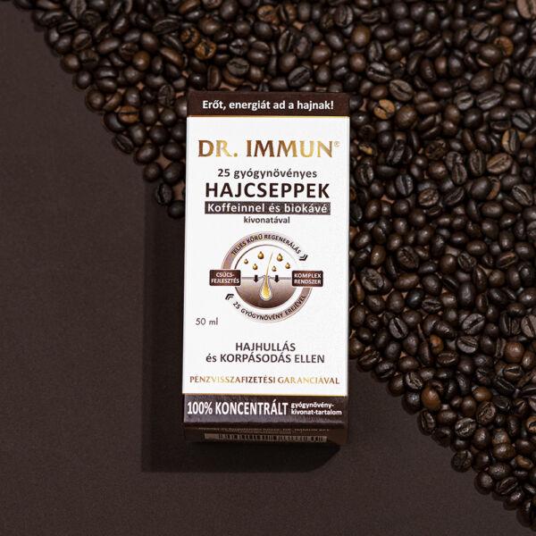 DR. IMMUN Koffeines Hajcseppek hajhullás ellen