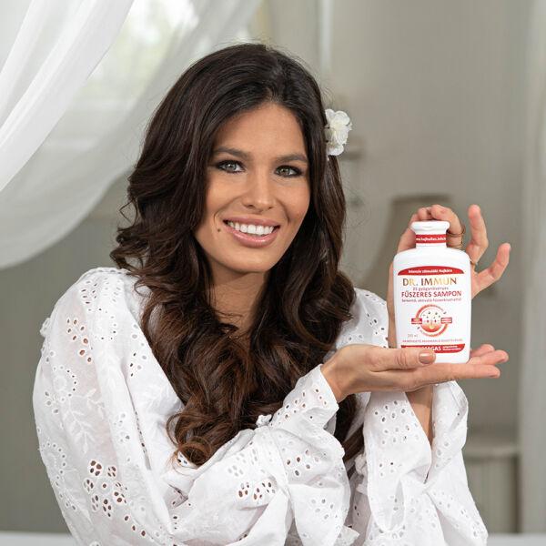 DR. IMMUN Fűszeres Hajsampon hajnövesztő, hajerősítő összetevőkkel